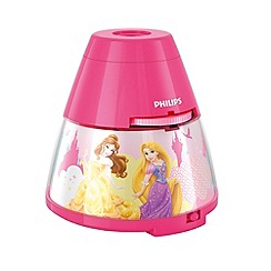 Litecraft - Philips Disney princess children's projector night light table lamp