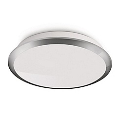 Litecraft - Philips Denim LED Chrome ceiling & wall light
