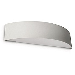 Litecraft - Philips Patch outdoor curved wall light in Grey