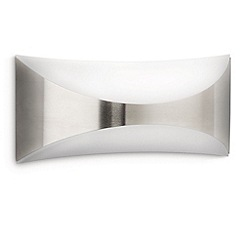 Litecraft - Philips Seedling outdoor up and down wall light in Stainless Steel