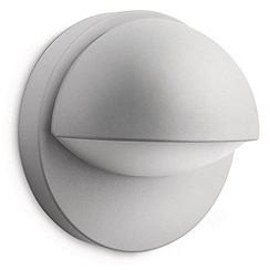 Litecraft - Philips June outdoor wall light in Grey