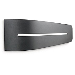 Litecraft - Philips Breeze energy saving Dark Grey outdoor wall light