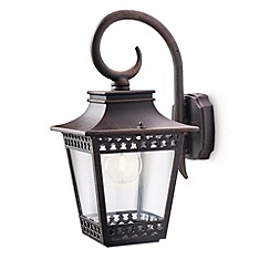 Litecraft - Philips Hedge outdoor Rustic lantern wall light