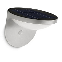 Litecraft - Philips Dusk outdoor wall light with pir sensor in Grey