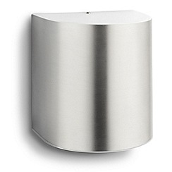 Litecraft - Philips Parrot outdoor led wall light in Stainless Steel