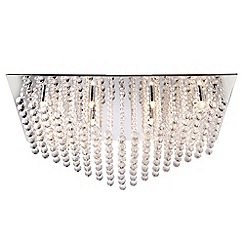 Litecraft - Galaxy large rectangular flush ceiling light