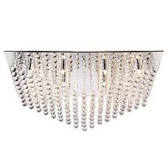 Litecraft - Galaxy large rectangular flush ceiling light