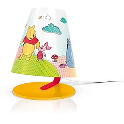 Litecraft - Philips Disney Kid's winnie the pooh table lamp