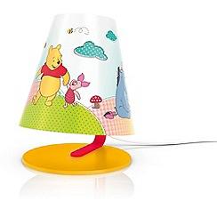 Litecraft - Philips Disney Kid's winnie the pooh table lamp