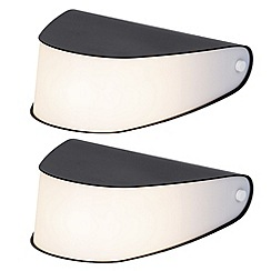Litecraft - Pack of 2 Mise 1 Light Grey table lamp