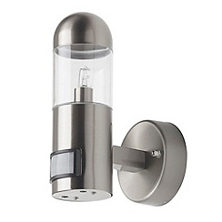 Litecraft - Sigma outdoor 1 light wall light in Stainless Steel