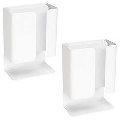 Litecraft - Philips Pack of 2 Novum LED Ledino Table Lamp - White