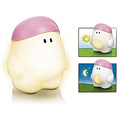 Litecraft - Philips Pack of 2 MyBuddy Children_s Night Light Table Lamp - Pink