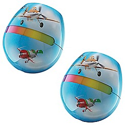 Litecraft - Philips Pack of 2 Disney Kid's LED LivingColors Micro Planes Multi-colour Table Lamp