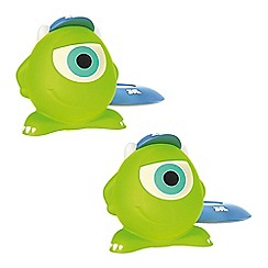 Litecraft - Philips Pack of 2 Disney Monsters Inc SoftPal Mike LED Night Light Table Lamp
