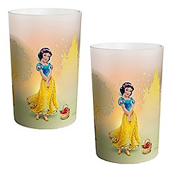 Litecraft - Philips Pack of 2 Disney Kid's LED Snow White Candles Table Lamp