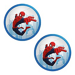Litecraft - Philips Pack of 2 Spiderman LED Ceiling or Wall Children's Light