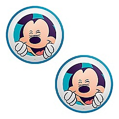 Litecraft - Philips Pack of 2 Disney's Mickey Mouse LED Wall or Ceiling Light