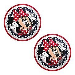 Litecraft - Philips Pack of 2 Disney's Minnie Mouse LED Ceiling or Wall Kid's Light