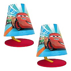 Litecraft - Philips Pack of 2 Disney's Cars Children's LED Table Lamp