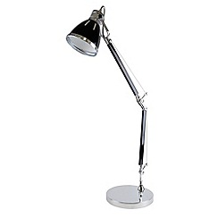 Litecraft - Hehuanshan 1 light swing-arm task lamp in Black