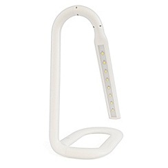 Litecraft - Tatlow 1 light White task lamp