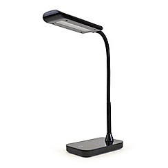 Litecraft - Erebus 1 light led touch sensitive task lamp in Black