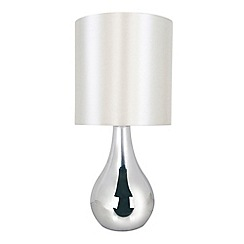 Litecraft - Manaslu Touch Sensitive table lamp in Chrome