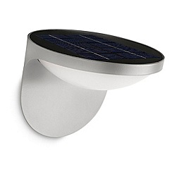 Litecraft - Philips myGarden Outdoor Dusk LED Solar Powered Wall Light - Grey