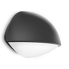 Litecraft - Philips myGarden Outdoor Dust Wall Light - Dark Grey