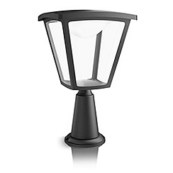 Litecraft - Philips myGarden Cottage LED Pedestal Light - Black