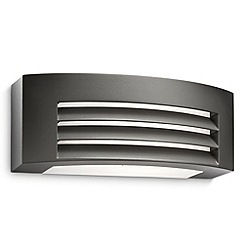 Litecraft - Philips Ecomoods Fragrance Outdoor Wall Light - Dark Grey
