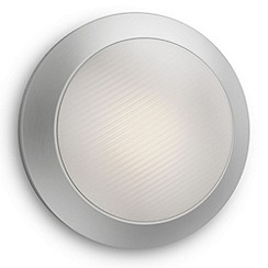 Litecraft - Philips myGarden LED Halo Wall Light - Satin Chrome
