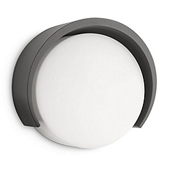 Litecraft - Philips MyGarden Parasola Outdoor Wall Light - Dark Grey