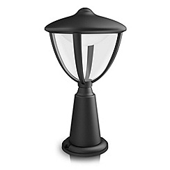 Litecraft - Philips myGarden Robin LED Pedestal Light - Black