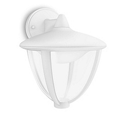 Litecraft - Philips myGarden Robin LED Hanging Wall Lantern - White