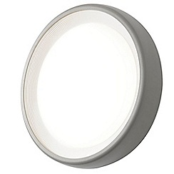 Litecraft - Linus Circular Outdoor LED Bulkhead Wall Light - Grey