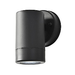 Litecraft - Hahn Outdoor Polycarbonate LED Single Up Or Down Wall Light - Black