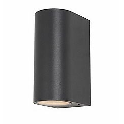 Litecraft - Irwell Up & Down Light Outdoor Wall Light - Anthracite