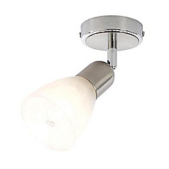 Litecraft - Rousse 1 Light Ceiling or Wall Light - Satin Nickel