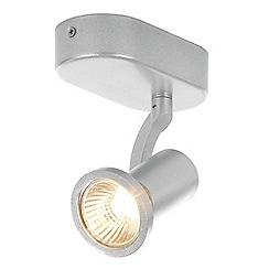 Litecraft - Foxe Die Cast Single Spotlight in Silver
