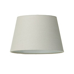 Litecraft - Soft Cotton Easy to Fit 25cm Lamp Shade - Mocha