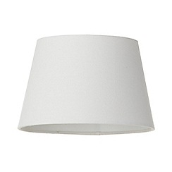 Litecraft - Soft Cotton Easy to Fit 30cm Lamp Shade - Ivory