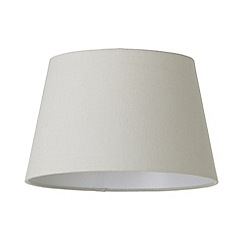 Litecraft - Soft Cotton Easy to Fit 30cm Lamp Shade - Mocha