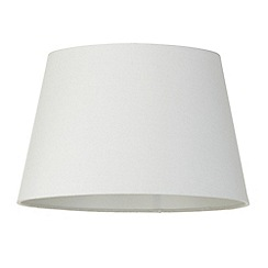 Litecraft - Soft Cotton Easy to Fit 35cm Lamp Shade - Ivory