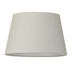 Litecraft - Soft Cotton Easy to Fit 35cm Lamp Shade - Mocha