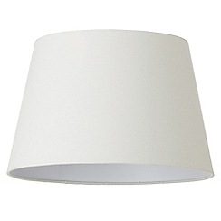 Litecraft - Soft Cotton Easy to Fit 40cm Lamp Shade - Ivory