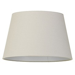 Litecraft - Soft Cotton Easy to Fit 40cm Lamp Shade - Mocha