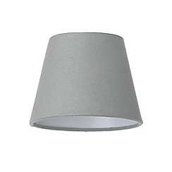 Litecraft - Soft Cotton Candle Lamp Shade - Grey