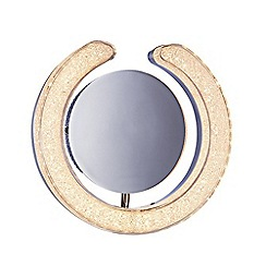 Litecraft - Link Horseshoe LED Mirror Wall Light - Chrome